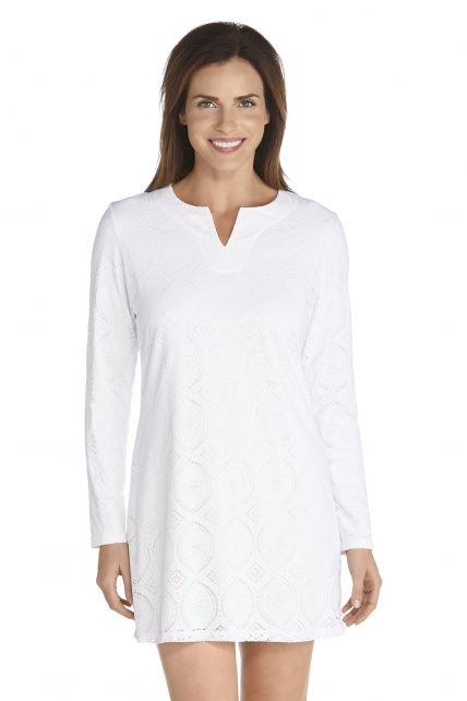 Coolibar---UV-Cabana-beach-dress---White