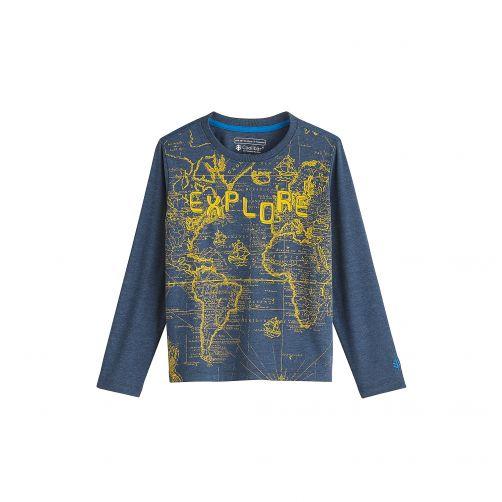 Coolibar---UV-shirt-for-kids---explore---dark-blue