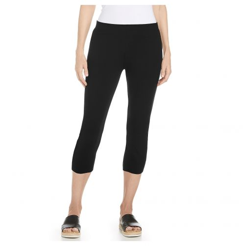 Coolibar---UV-capris-for-ladies---black