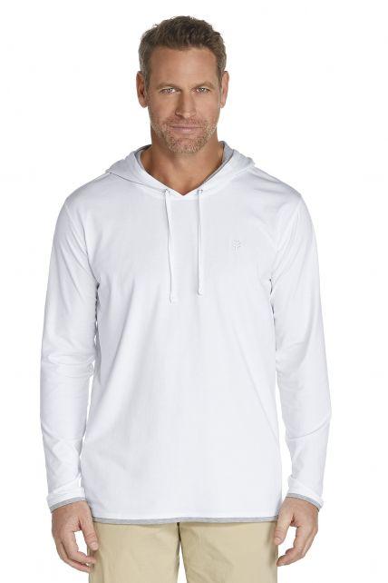 Coolibar---Cowl-Neck-Pullover---white
