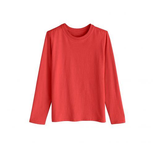 Coolibar---UV-shirt-for-kids---red