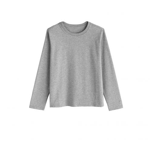 Coolibar---UV-Shirt-for-kids---Longsleeve---Coco-Plum---Grey