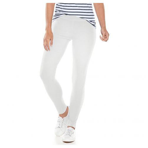Coolibar---UV-leggings-for-ladies---white