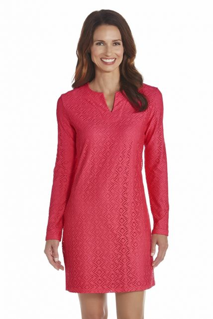Coolibar---UV-Tunic-women---Coral