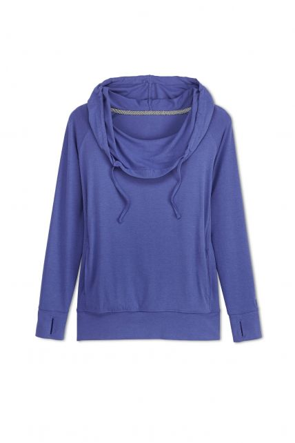Coolibar---Cowl-Neck-Pullover---Empire-Blue