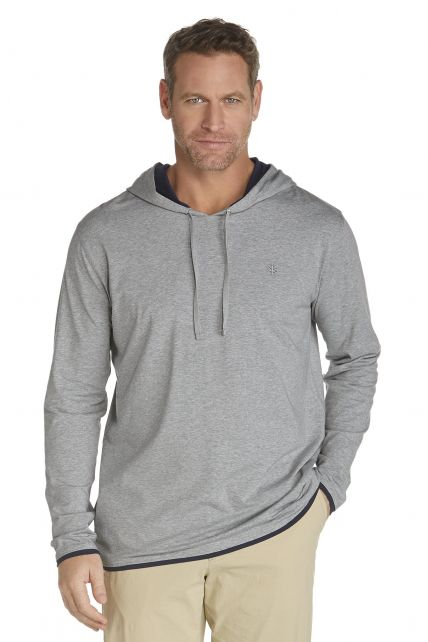 Coolibar---Cowl-Neck-Pullover---grey