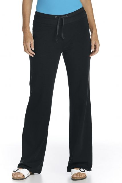 Coolibar---UV-Beach-Pants---Black