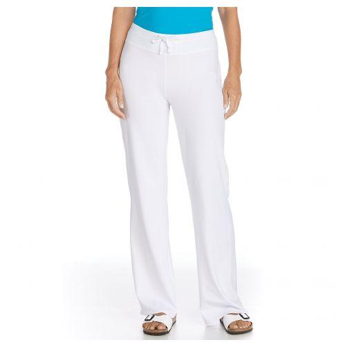 Coolibar---UV-Beach-UV-Pants---White
