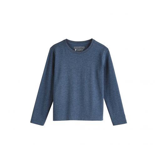 Coolibar---UV-shirt-for-kids---blue