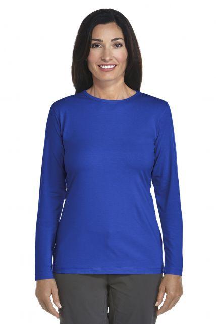 Coolibar---UV-Long-Sleeve-T-Shirt---royal-cobalt