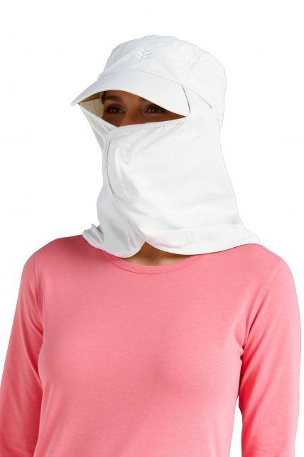 Coolibar---Ultra-UV-Sport-Hat---White