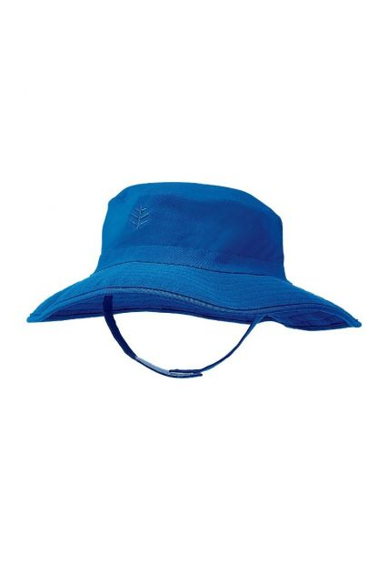 Coolibar---UV-bucket-hat-for-babies---Blue-wave