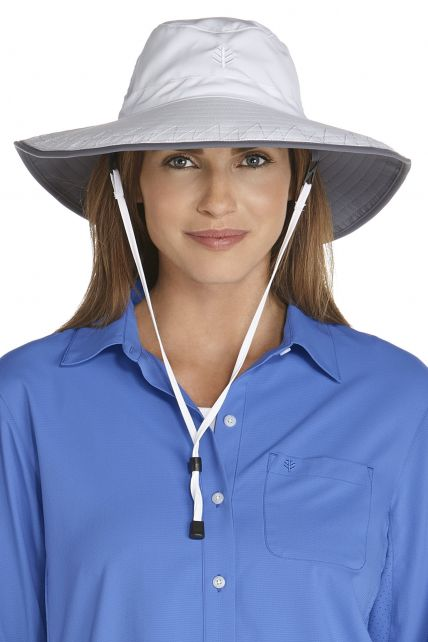 Coolibar---Chlorine-Resistant-UV-Bucket-Hat---white