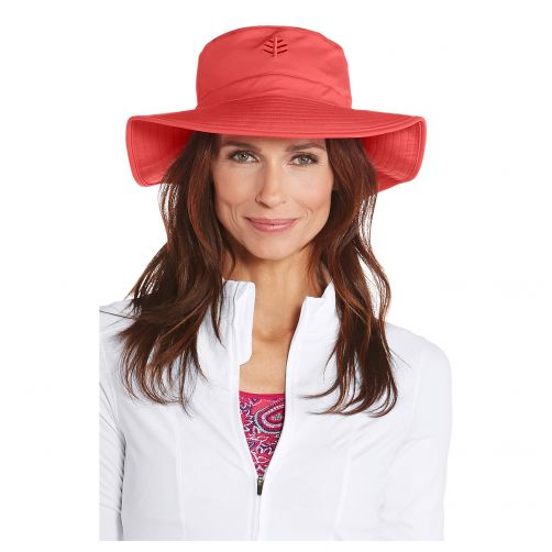 Coolibar---UV-floppy-hat-for-women---Poppy-red