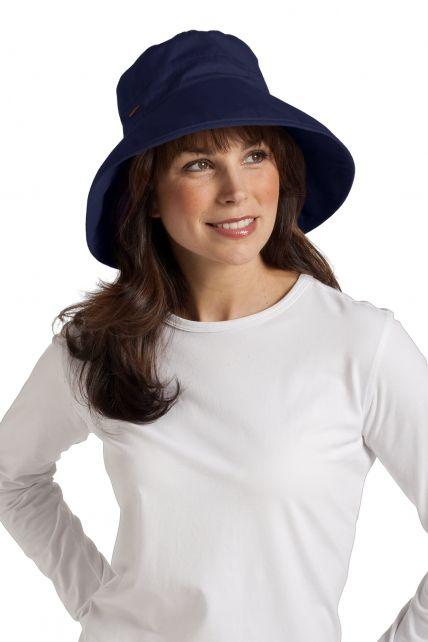 Coolibar---Everyday-Cotton-UV-Hat---Blue