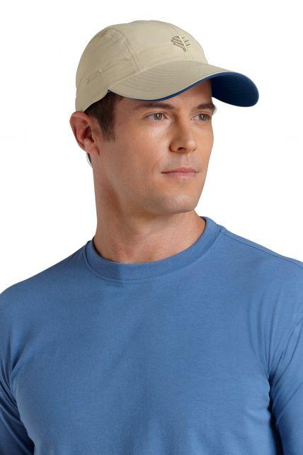 Coolibar---Super-Sport-UV-Hat---Beige