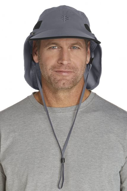 Coolibar---Chlorine-Resistant-Ultra-UV-Sport-Hat---grey