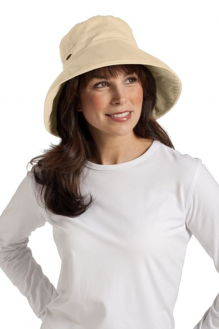 Coolibar---Everyday-Cotton-UV-Hat---Beige