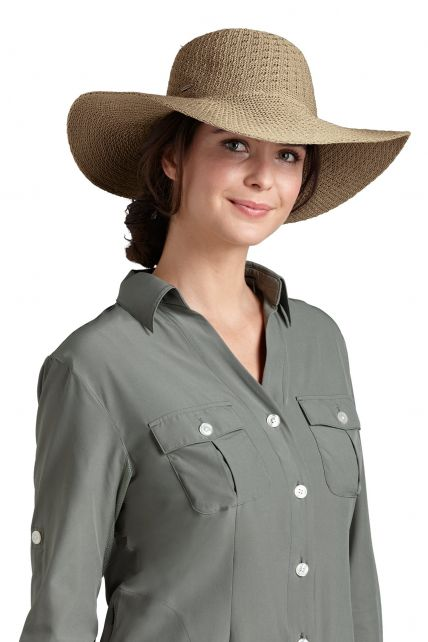 Coolibar---UPF-50+-Women's-Packable-Wide-Brim-Sun-Hat--Natural