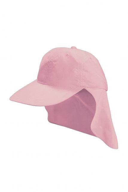 Coolibar---UPF-50+-Child-All-Sport-Flap-Sun-Hat--Pink