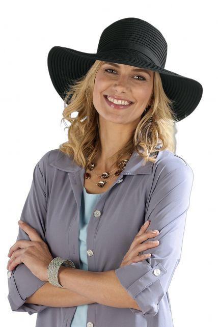 Coolibar---Shapeable-Travel-UV-Sun-Hat---Black