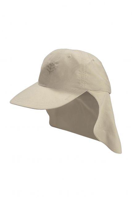 Coolibar---UPF-50+-Child-All-Sport-Flap-Sun-Hat--Grey