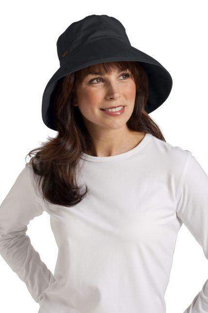 Coolibar---Everyday-Cotton-UV-Hat---Black