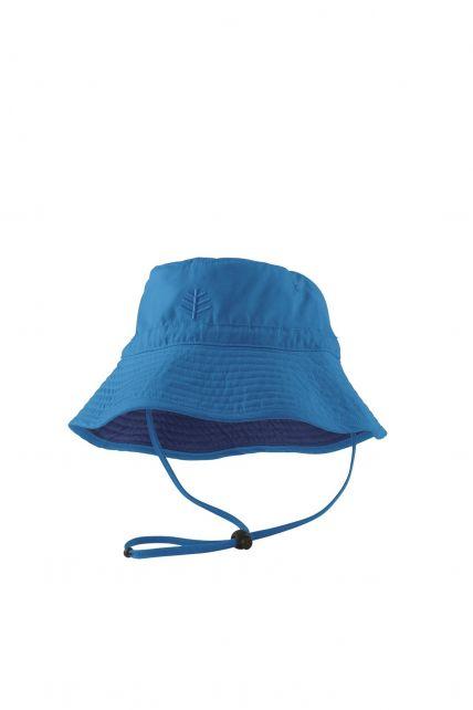 Coolibar---UPF-50+-Toddler-Chin-Strap-Sun-Hat--Blue