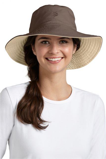 Coolibar---Santa-Cruz-Reversible-UV-hat---Beige