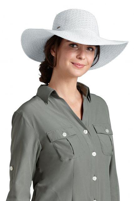 Coolibar---UPF-50+-Women's-Packable-Wide-Brim-Sun-Hat--White