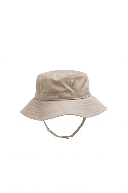 Coolibar---UPF-50+-Baby-Girl's-Chin-Strap-Hat---Beige