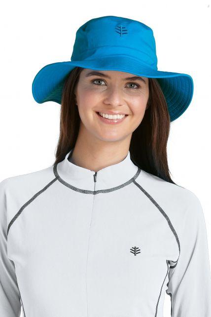 Coolibar---Chlorine-Resistant-UV-Bucket-Hat---Azure