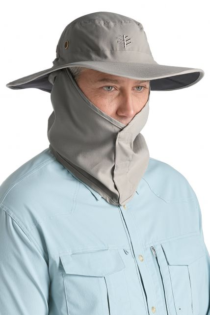 Coolibar---Shapeable-Boating-Hat---Grey