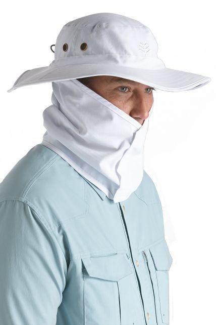 Coolibar---Shapeable-Boating-Hat---White