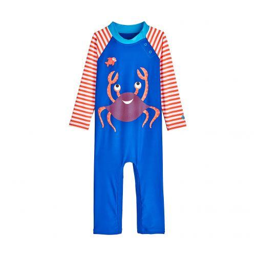 Coolibar---UV-swimsuit-for-babies---Cute-Crustacean