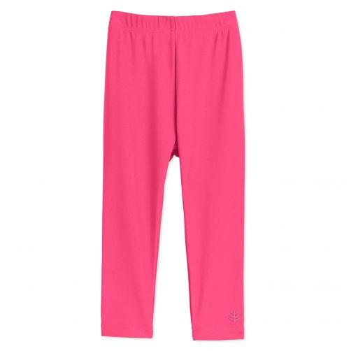 Coolibar---UV-swim-leggings-for-babies---Aloha-pink