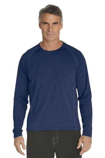 Coolibar---Men's-Long-Sleeve-Swim-Shirts---navy