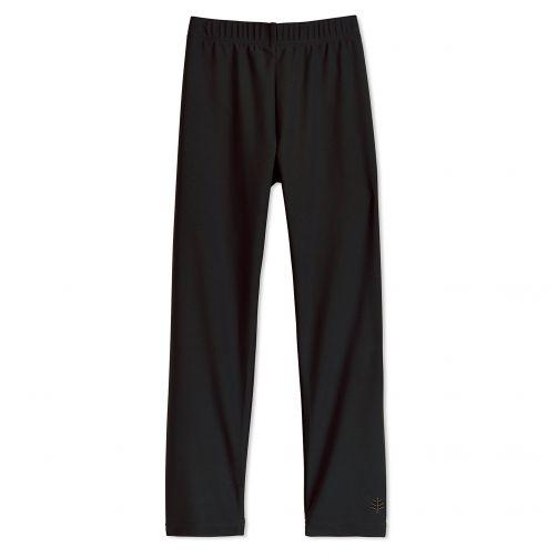 Coolibar---UV-swim-leggings-for-children---Black