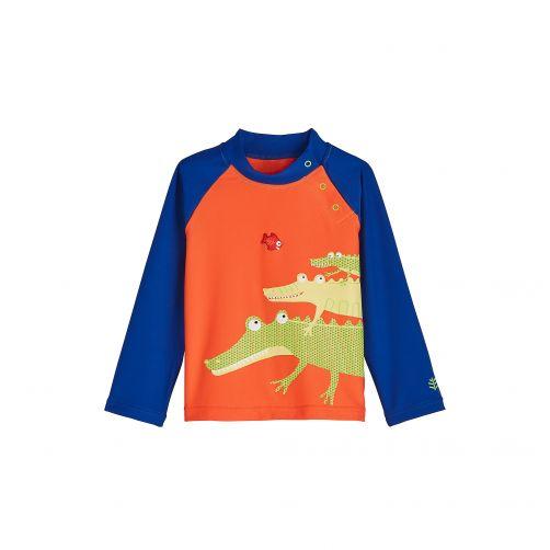 Coolibar---UV-swim-shirt-for-babies---Gracious-Gators