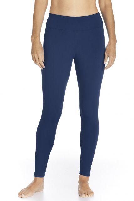 Coolibar---UV-Swim-Legging-for-women---Deep-Water---Navy