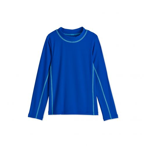 Coolibar---UV-swim-shirt-for-children---Blue-Wave