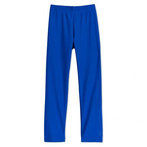 Coolibar---UV-swim-leggings-for-children---Blue-wave