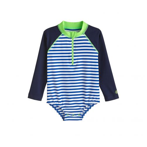 Coolibar---UV-bathing-suit-for-babies---Long-sleeve---Blue-Wave-Stripe