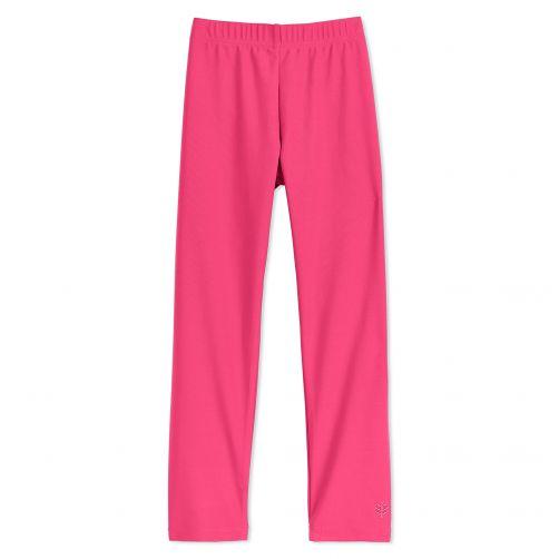 Coolibar---UV-zwemlegging-voor-kinderen---Aloha-roze