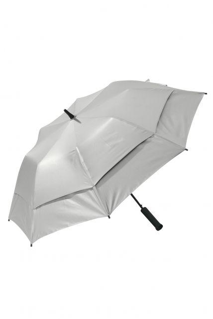 Coolibar---UV-umbrella---Silver