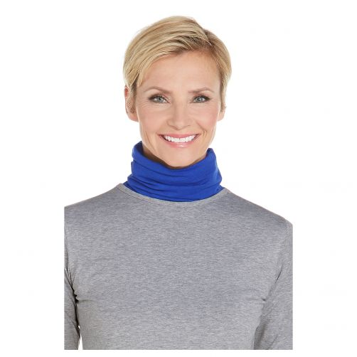 Coolibar---UV-neck-gaiter-unisex--Side-vents---Sailor