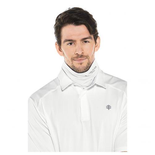 Coolibar---UV-resistant-Sun-Gaiter-for-adults---Virasana---White