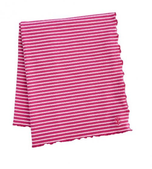 Coolibar---UV-sun-blanket---Bright-coral-red