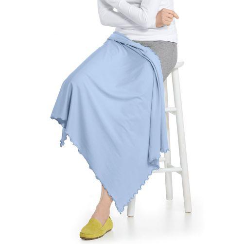 Coolibar---UV-blanket-for-women,-men,-kids-and-babies---Blue