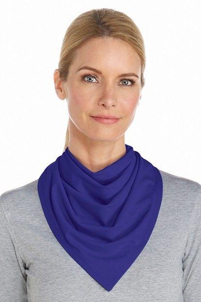 Coolibar---UV-resistant-bandana---Blue